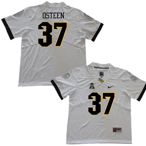 Men #37 Andrew Osteen UCF Knights College Football Jerseys Sale-White