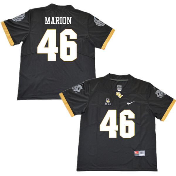 Men #46 Nykie Marion UCF Knights College Football Jerseys Sale-Black