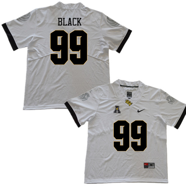 Men #99 Tyrese Black UCF Knights College Football Jerseys Sale-White