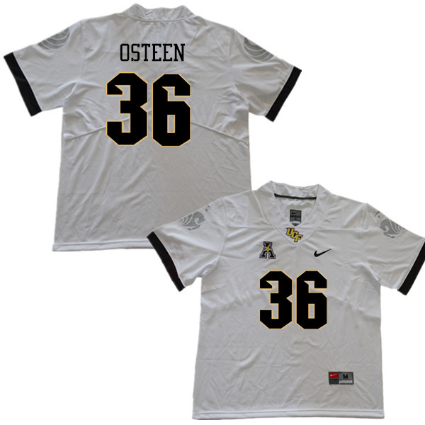 Men #36 Andrew Osteen UCF Knights College Football Jerseys Sale-White