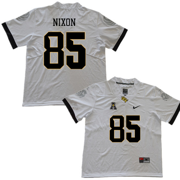 Men #85 Devin Nixon UCF Knights College Football Jerseys Sale-White