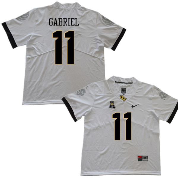 Men #11 Dillon Gabriel UCF Knights College Football Jerseys Sale-White