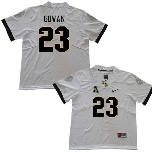 Men #23 Tay Gowan UCF Knights College Football Jerseys Sale-White