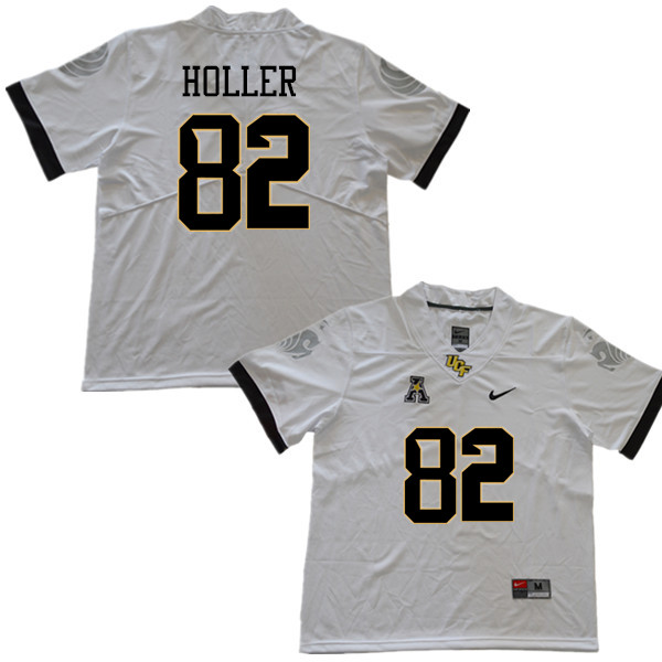 Men #82 Alec Holler UCF Knights College Football Jerseys Sale-White