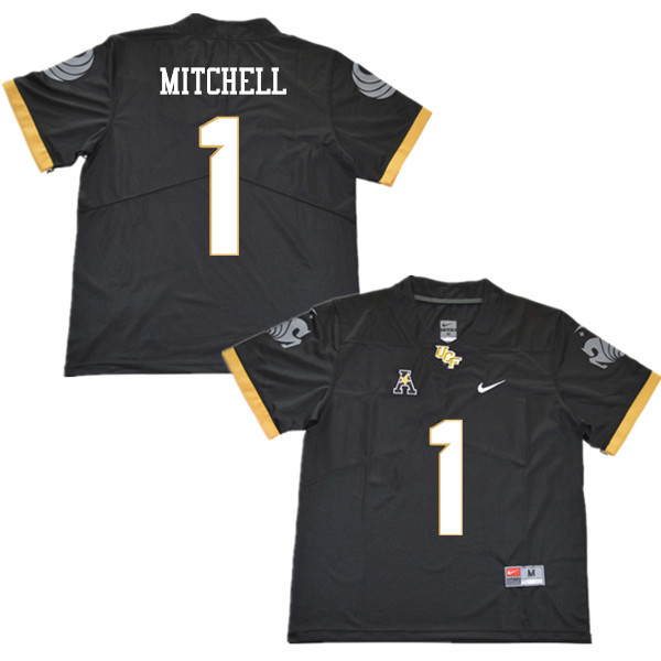 Men #1 Eric Mitchell UCF Knights College Football Jerseys Sale-Black