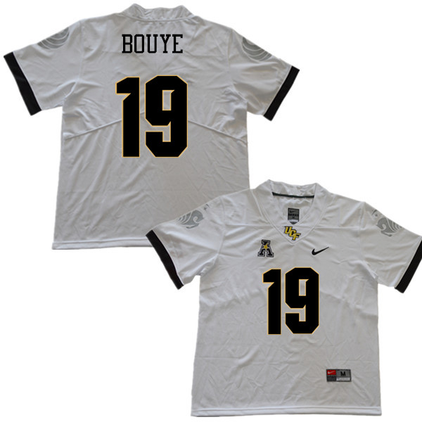 Men #19 A.J. Bouye UCF Knights College Football Jerseys Sale-White
