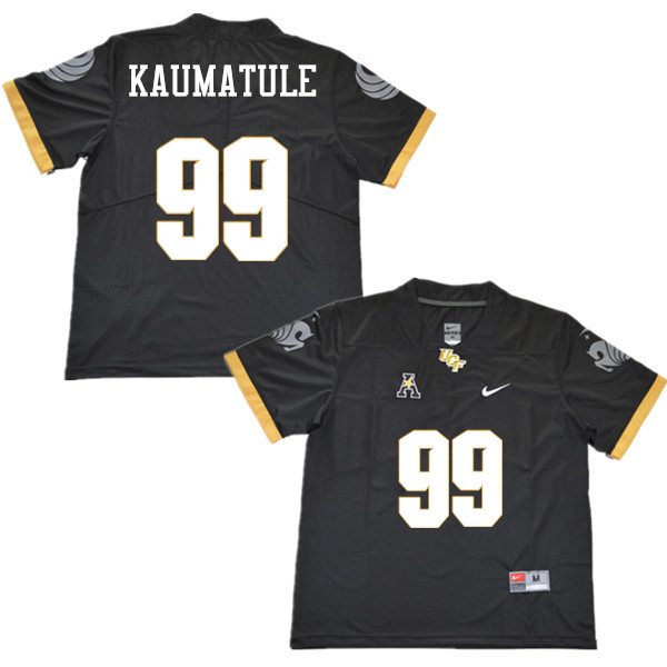 Men #99 Canton Kaumatule UCF Knights College Football Jerseys Sale-Black