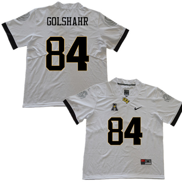 Men #84 Nader Golshahr UCF Knights College Football Jerseys Sale-White