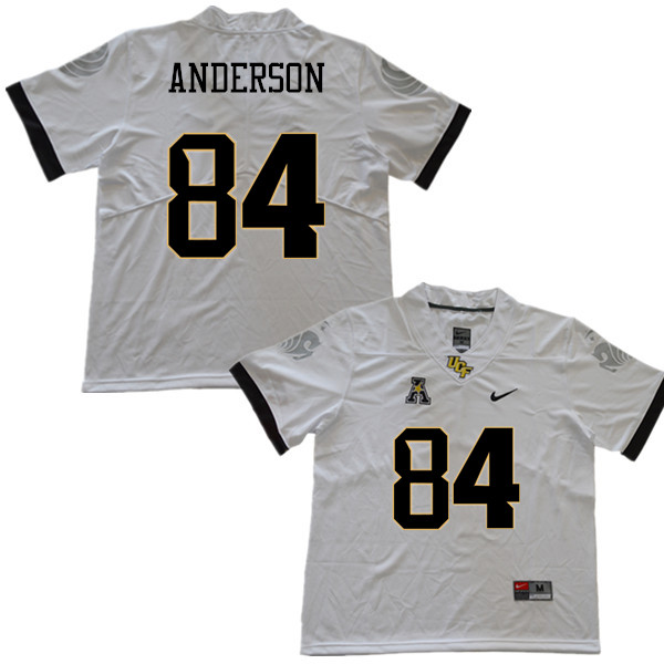 Men #84 Trey Anderson UCF Knights College Football Jerseys Sale-White