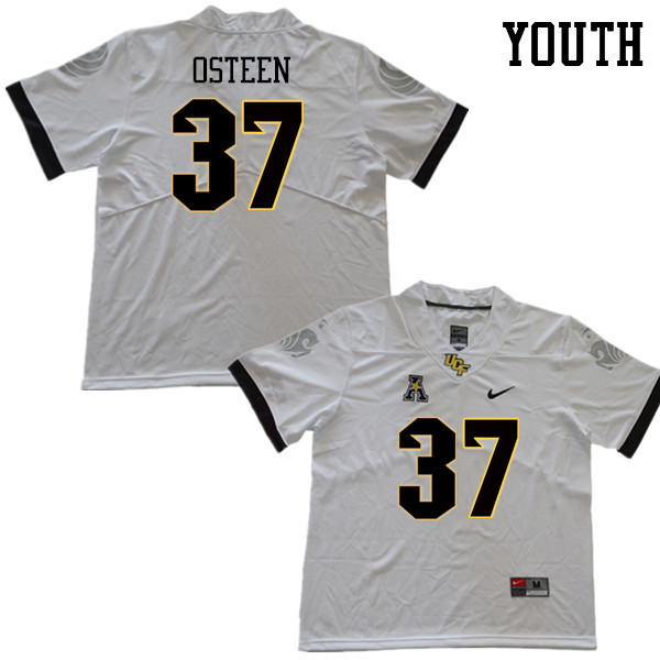 Youth #37 Andrew Osteen UCF Knights College Football Jerseys Sale-White