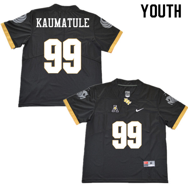 Youth #99 Canton Kaumatule UCF Knights College Football Jerseys Sale-Black