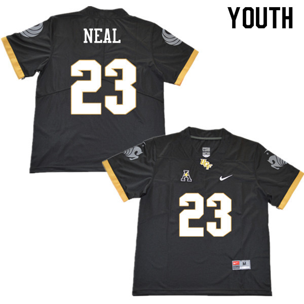 Youth #23 Tre Neal UCF Knights College Football Jerseys Sale-Black