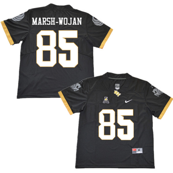 Men #85 Zach Marsh-Wojan UCF Knights College Football Jerseys Sale-Black