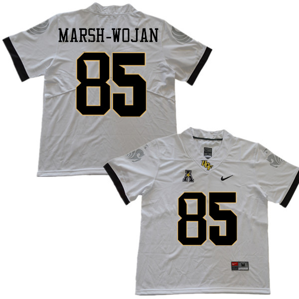 Men #85 Zach Marsh-Wojan UCF Knights College Football Jerseys Sale-White